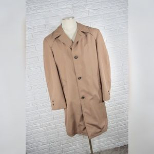 Vintage Tailored for Richman | Mens Trench Coat